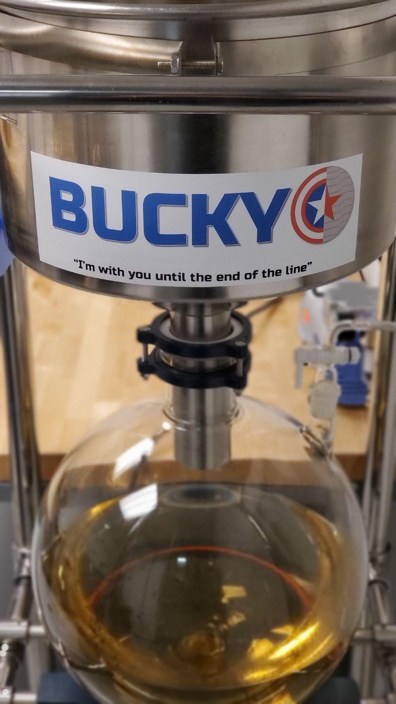 Bucky machine in Mechnano lab